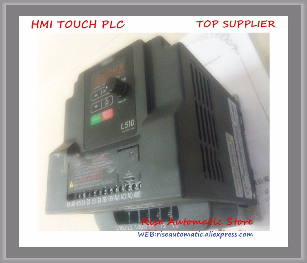 L510-202-H1-N new 1 phase 220V 7.5A 1.5KW 2HP Inverter VFD frequency AC driveL510-202-H1-N new 1 phase 220V 7.5A 1.5KW 2HP Inverter VFD frequency AC drive