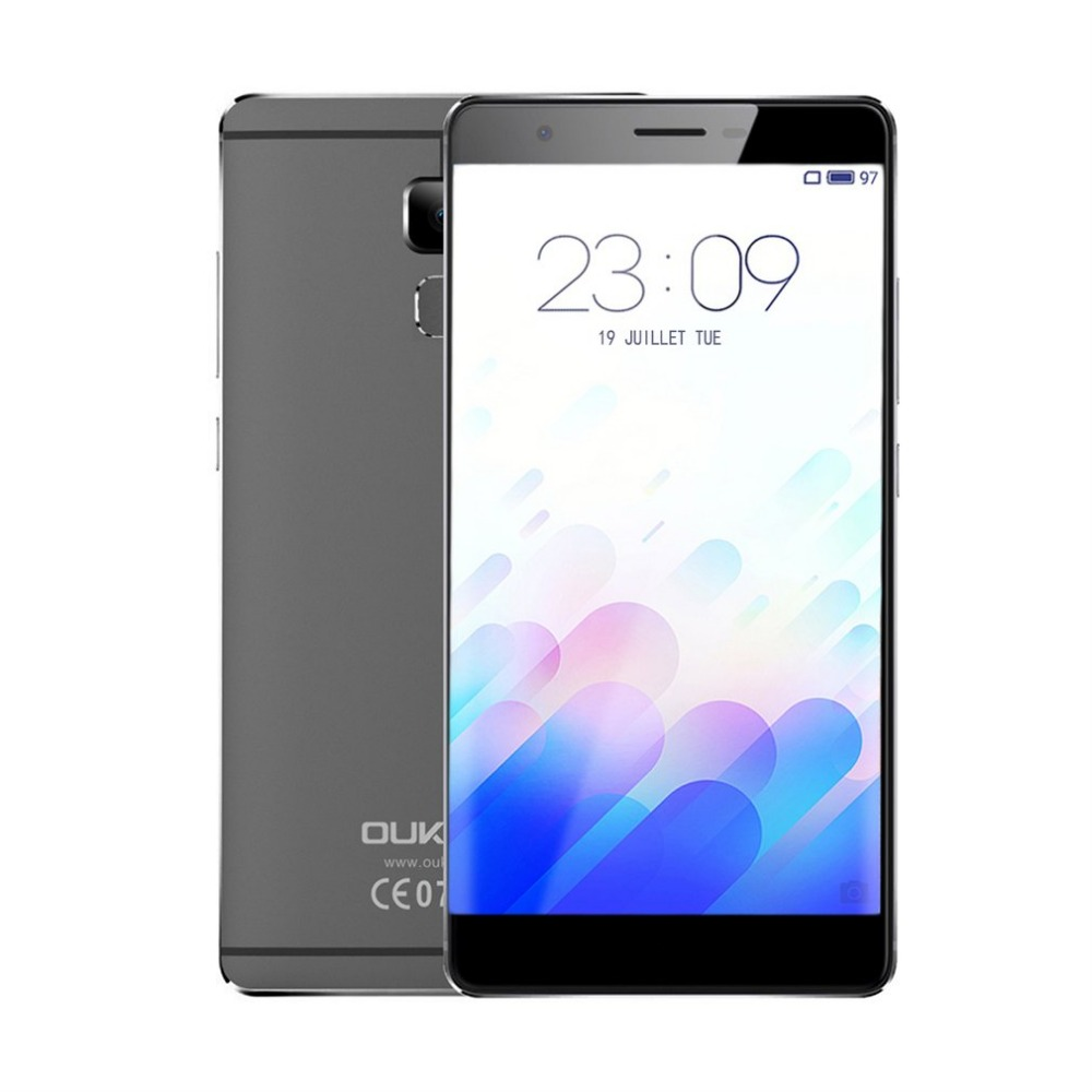 Original Oukitel U13 Mobile Phone 5.5 Inch 4G Android 6.0 MT6753 Octa-Core 3GB RAM 64GB ROM 13.0MP Camera Fingerprint Smartphone