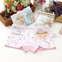 1pc Girls underwear panties knickers Cartoon Printed lovely children underpants baby briefs kids pants for girls Random Color