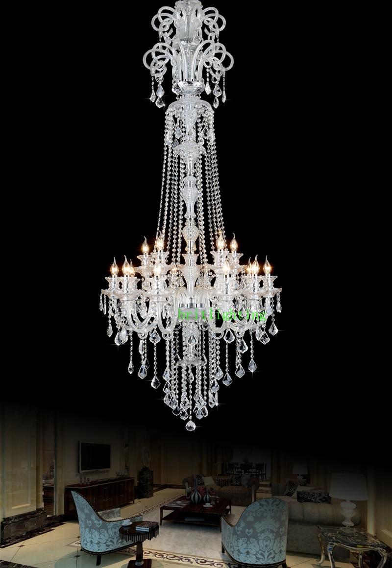 Lustres de cristal Lustre de cozinha grande com pingentes de cristal - Iluminação interior - Foto 2