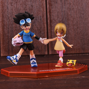 Image 2 - อัญมณีผจญภัยDigimon MonsterดิจิตอลTaichi Yagami Koromon Hikari Yagami Nyaromon PVC Action Figureของเล่นสะสม