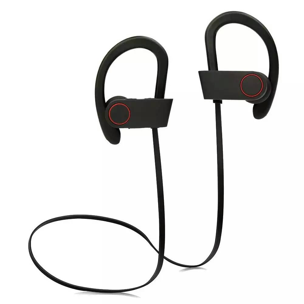 Top Quality Q6 Bluetooth 4.1 Headphones Wireless HD Stereo Bass Earphone Power Sound Sports Headset Ear-hook Earbuds Earphones bluetooth headset stereo sound wireless bluetooth earphone bass sport in ear headphones headband handsfree for iphone pc