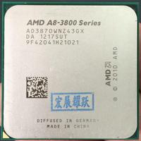 AMD A8 Series A8 3870K AD3870WNZ43GX A8 3870 Quad Core CPU 100% working properly Desktop Processor