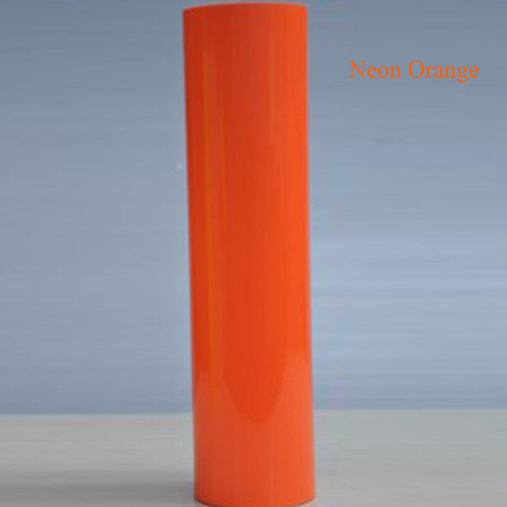 A4 1m ROLL FLUORESCENT NEON FLEX T-SHIRT VINYL HEAT PRESS VINYL TRANSFER PAPER