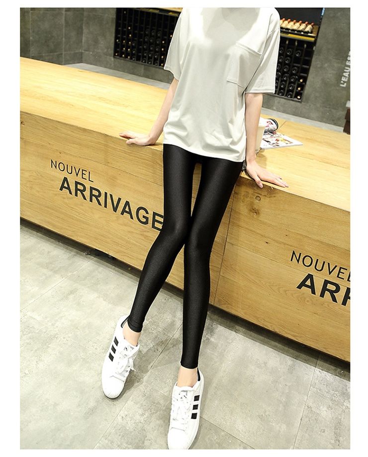 dc89183454c8f Maternity Leggings Spring Autumn Trousers for Pregnant Women Elastic  Adjustable Waist Pencil Pants Clothing Pregnancy Clothes
