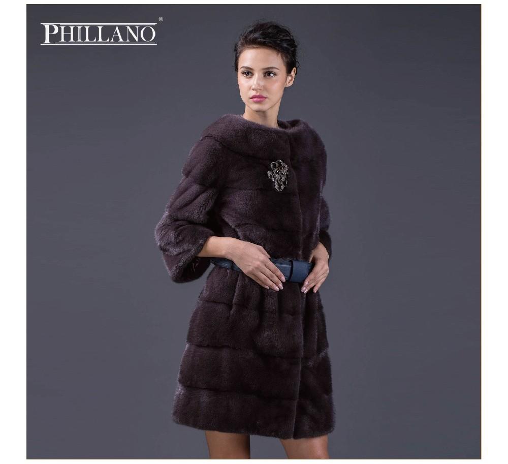 HTB1vD19LXXXXXbZXVXXq6xXFXXX9 - Hot  PHILLANO New Premium Women Mink Parka 2017 Natural Color Real Fur Short Coat Mink Scandinavia Denmark NAFA YG11024-1-90