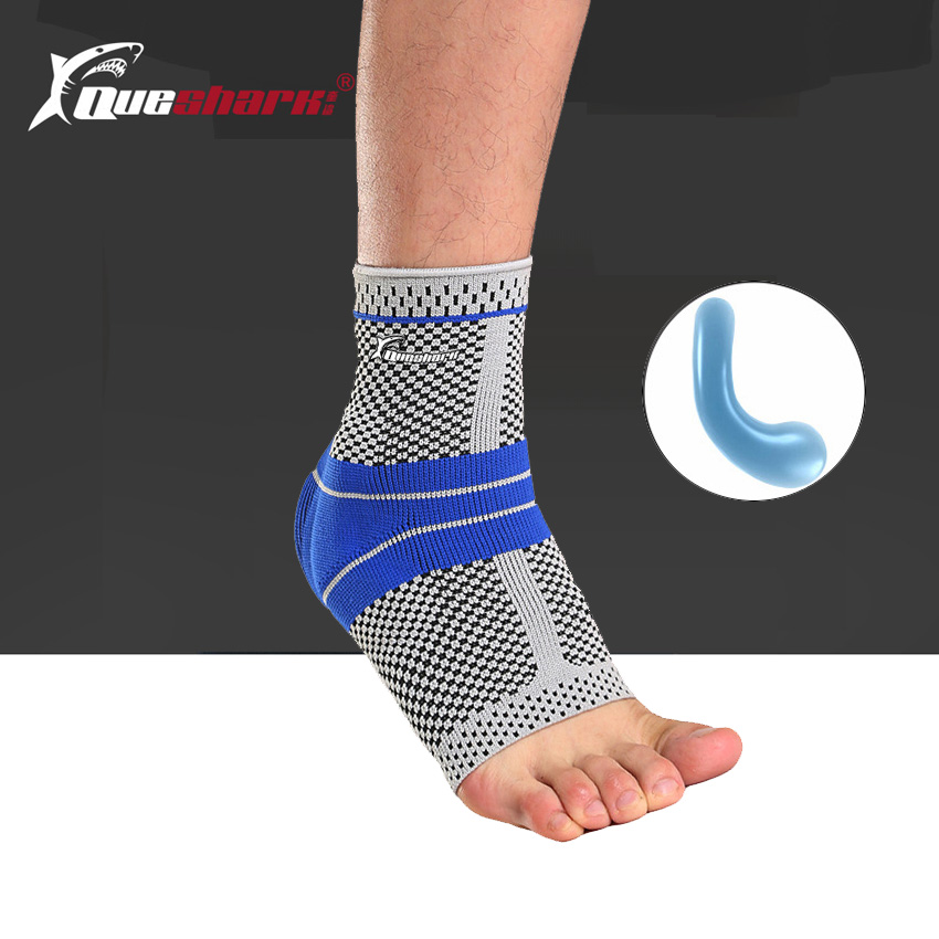 14c5a3ad31 Detail Feedback Questions about 3D Elastic Silicone Ankle Support Fitness  Compression Ankle Protector Basketball Football Tennis Silica Gel Pad Ankle  Brace ...