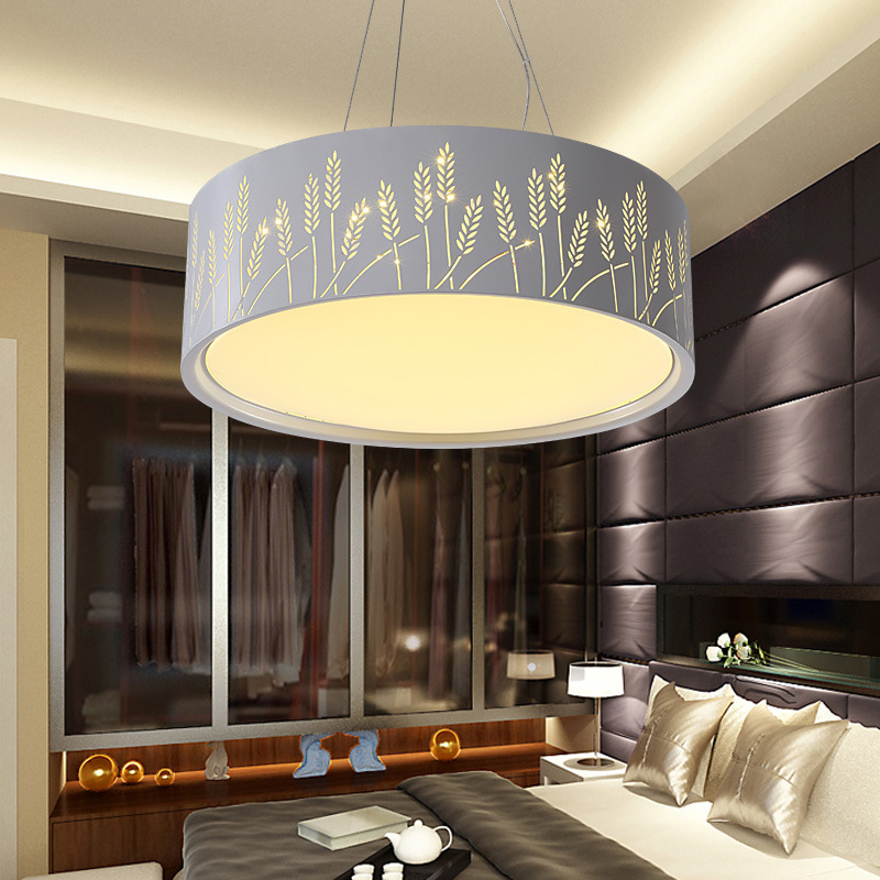 Modern high end led acrylic pendant light creative round dia53 modern high end led acrylic pendant light creative round dia53h17cm living room hotel decorative lights stepless dimming aloadofball Image collections