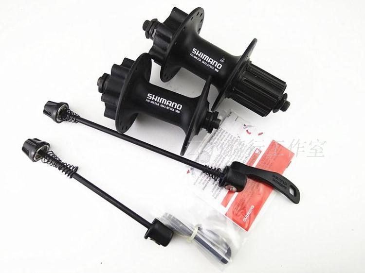 Shimano deore FH-M525 HB-M525 hub VTT vélo hubs 32 H 36 H 100/135mm 8 s 9 s 10 s M525 hub - 2