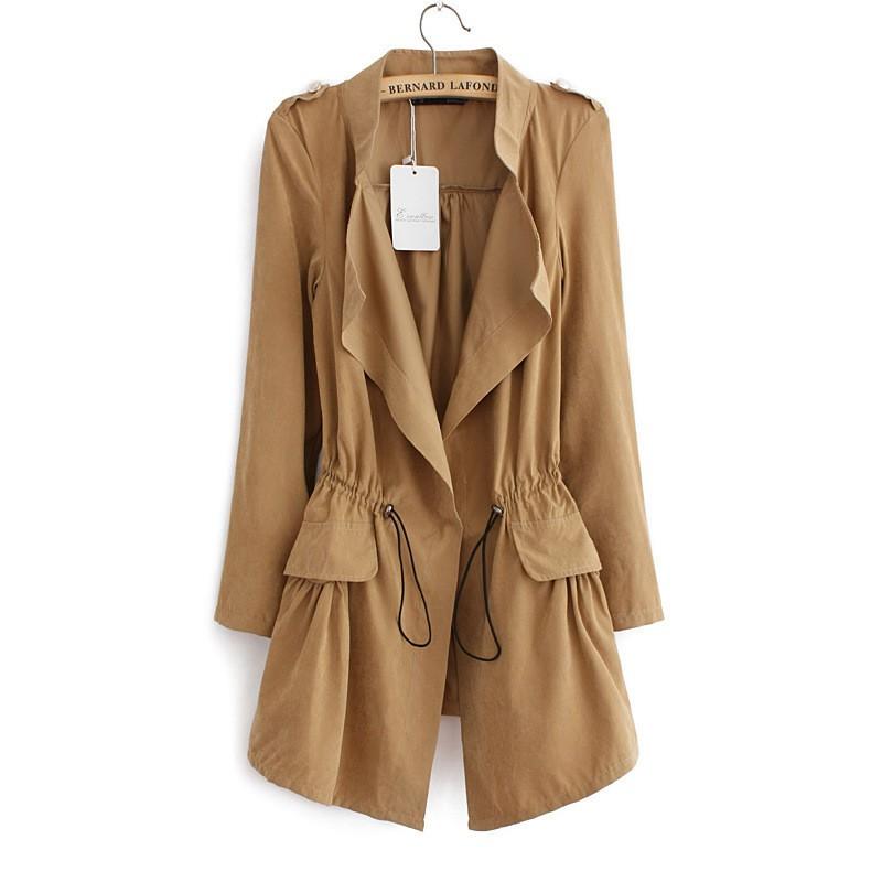 women burderry trench coat