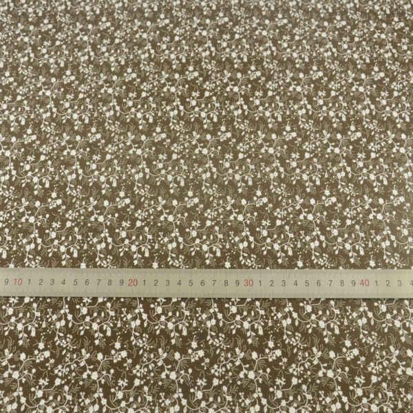 脂肪四半期花や葉デザインプリント綿生地織物人形衣料品工芸品縫製 Teramila 生地デスク布