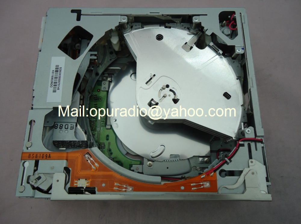 Original new Clarion 6 CD changer mechanism drive loder PCB number 039278421 for Ni an 28185