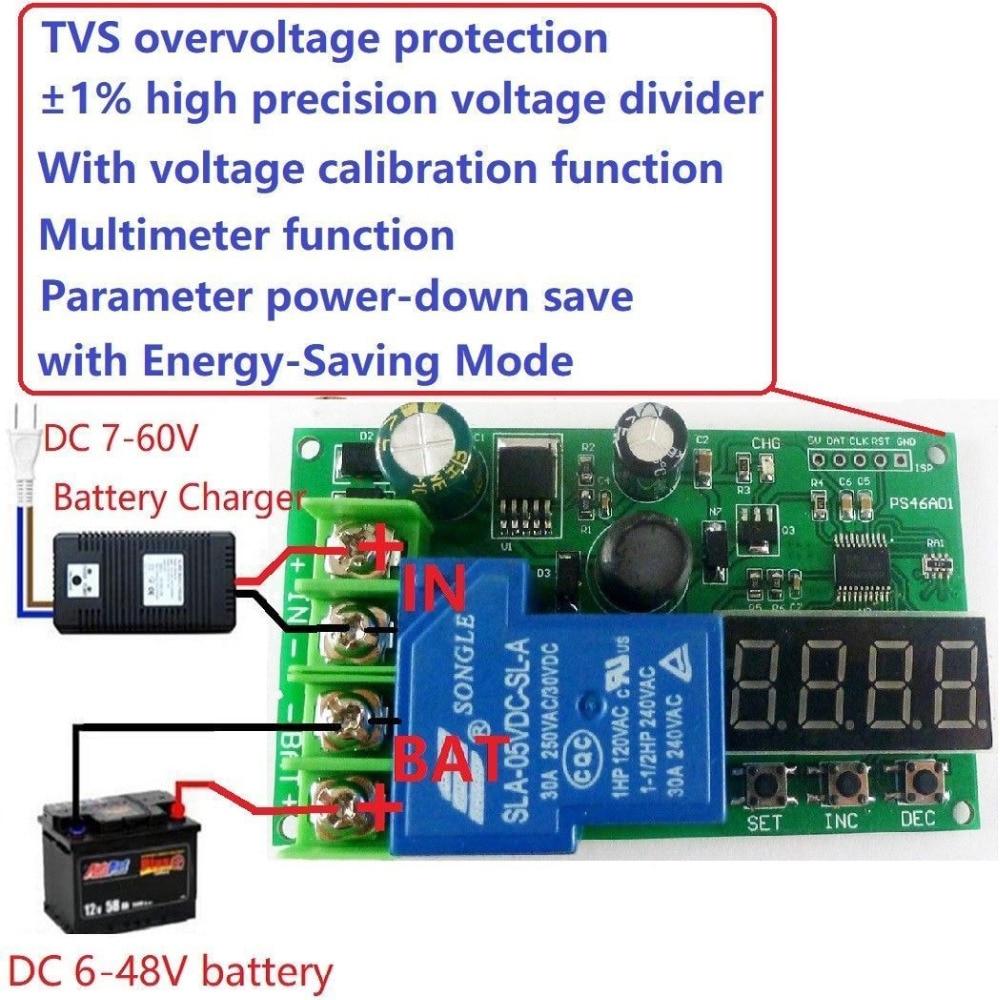 12v 24v 36v 48v Lead-acid Lithium Battery Battery Charging Protection Board car12v 24v 36v 48v Lead-acid Lithium Battery Battery Charging Protection Board car