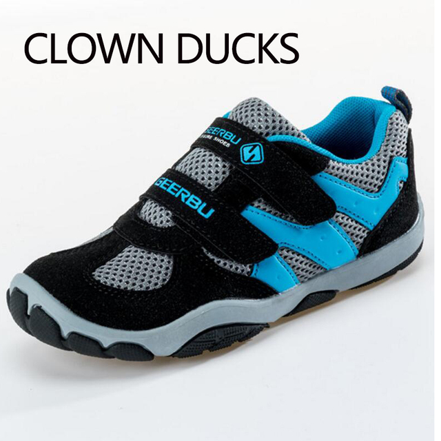 a51601d1f05 CLOWN DUCKS Kinderschoenen Jongens Sneakers Meisjes Sport Schoenen Maat 28-37  Kind Leisure Trainers Casual