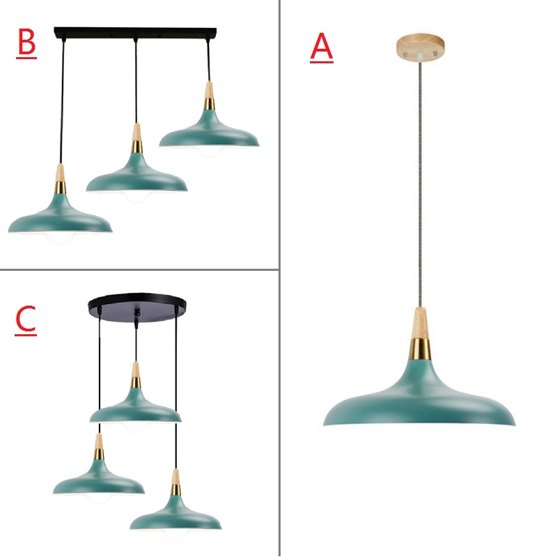 Green Pendant Light For Kitchen Island Office Modern