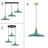 Green Pendant Light For Kitchen Island Office Modern Ceiling Lamp Large Lighting Fixtures Bedroom Lights Bar Wood Pendant Lamps