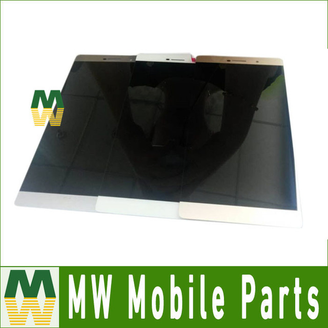 Para huawei p8 max lcd display + touch screen digitizer montamos reemplazo blanco negro color oro 1 pc/lot