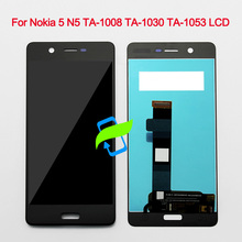 цена на 5.2 Original Quality 1280x720 For Nokia 5 TA-1008 TA-1030 TA-1053 LCD Display w Touch Screen Digitizer Assembly For NOKIA 5 LCD