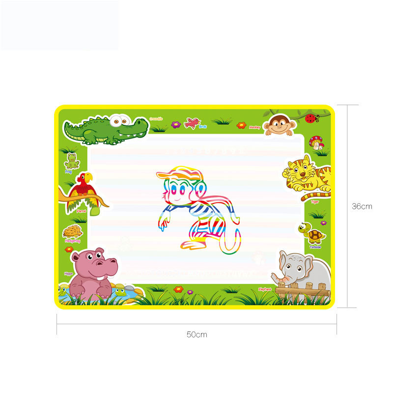50x36cm-Baby-Kids-Add-Water-with-Magic-Pen-Doodle-Painting-Picture-Water-Drawing-Play-Mat-in-Drawing-Toys-Board-Gift-Christmas-3