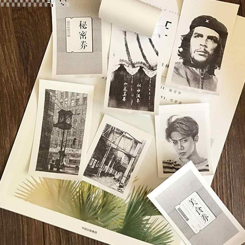 3 rollos/juego de impresión duradera para papel adhesivo de papel fotográfico de papel para Mini impresora fotográfica de bolsillo