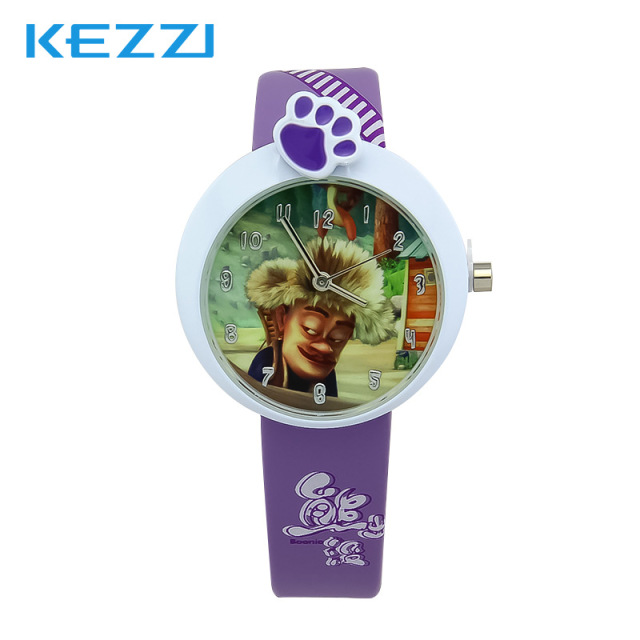 Lovely Watch Christmas Gifts for Children's Wrist Watch Analog Quartz Watches Kids Watches Cute Saati cartoon Colorful Leather