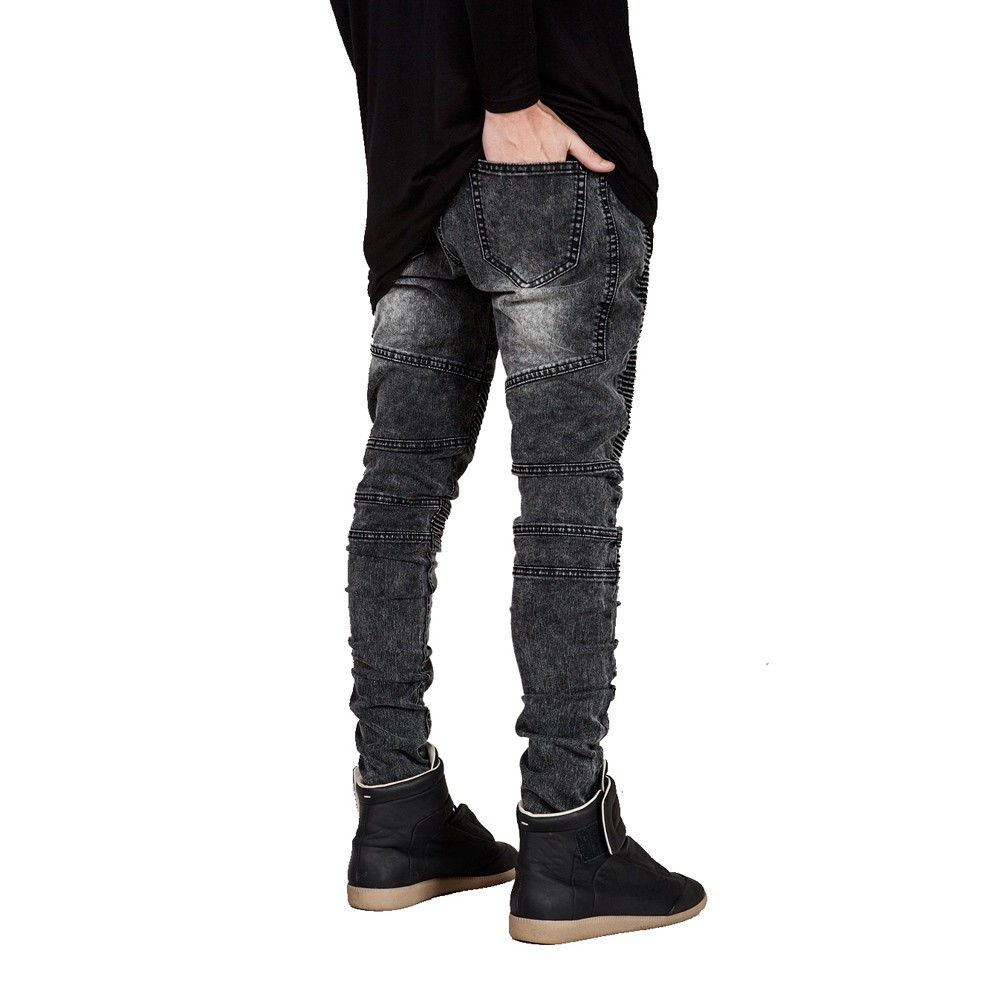 HTB1vD3JLVXXXXXbapXXq6xXFXXXh Runway Slim Racer Biker Jeans
