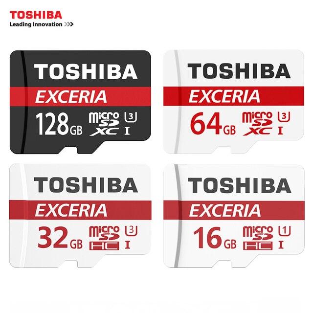 TOSHIBA U3 Карты Памяти 128 ГБ 64 ГБ SDXC Макс ДО 90 МБ/с. Микро SD Card SDHC-I 32 ГБ 16 Г U1 Class10 С пакетом Официальная Проверка