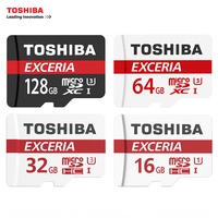 TOSHIBA U3 Memory Card 128GB 64GB SDXC Max UP 90MB S Micro SD Card SDHC I