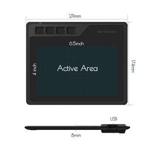 Image 2 - GAOMON tableta Digital S620 con bolígrafo de 6,5x4 pulgadas, tableta gráfica de Anime para dibujo y reproducción de OSU con bolígrafo sin batería de 8192 niveles