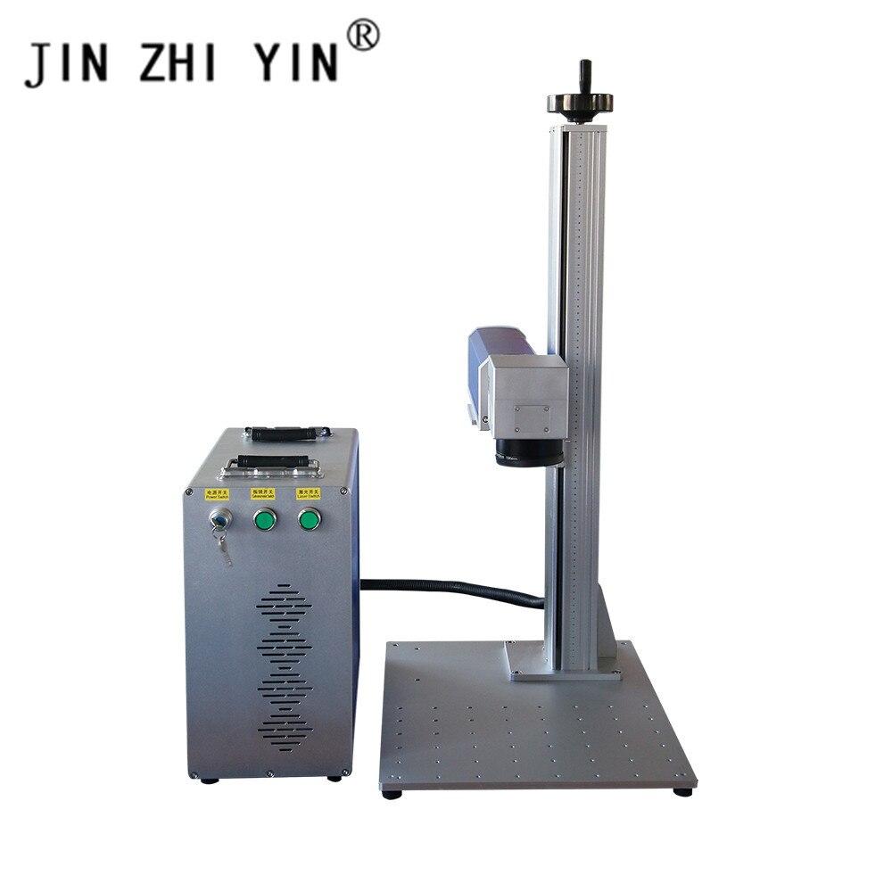 Raycus Laser Marking Machine 50w Fiber Laser Marking Machine 300x300mm 3d Metal Printer Laser Marking Machine