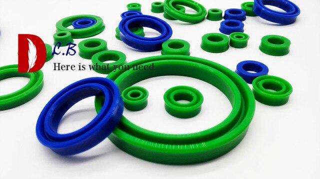 Buffer UNS tasse dichtung ID = 13 mm - 15 mm U Tasse Einzigen Lip Hydraulische zylinder kolben und stange dichtung U Ring Polyurethan (PU) gummi