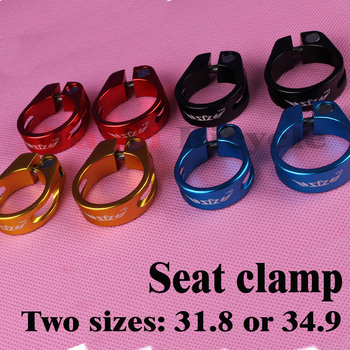 ZFZ Seat Tube Clamp 31.8 / 34.9 Bicycle Posts 27.2 30.4 30.8 31.6 Quick Release Aluminum Road Bike MTB