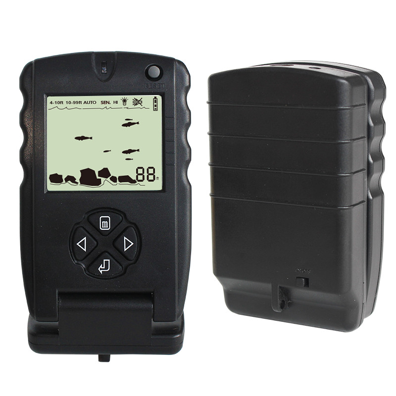 Lucky Portable Fish Finder 100ft Sonar Fish Finders fishfinder Echo - Fishing - Photo 4