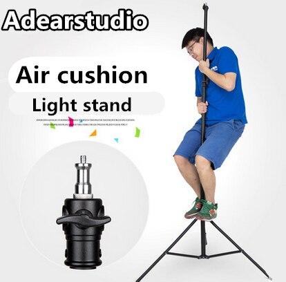 Godox Three section aluminum air cushion lighting stand Photographic equipment Air Cushion strobe flash Light Stand CD50