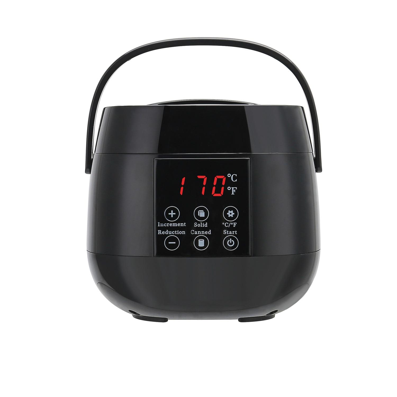 Hair Removal Tool LCD Display Smart Wax Heater Hands Feet Epilator Personal Depilatory Skin Care Paraffin Wax Warmer Machine Kit