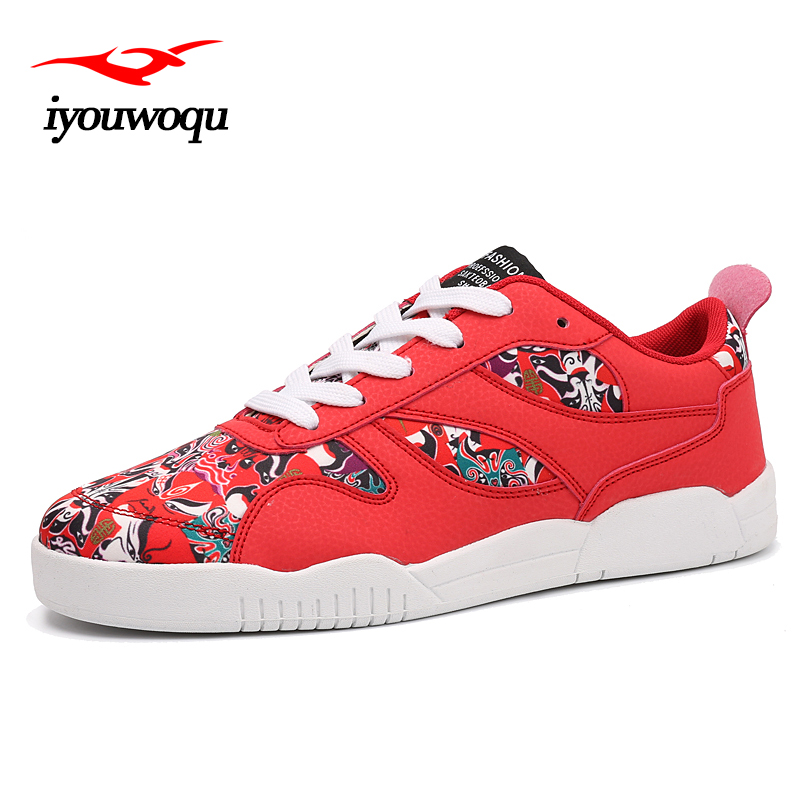 2018 Chinese style sneakers Trump printing running shoes colour shoes outdoor walking shoes for female ...