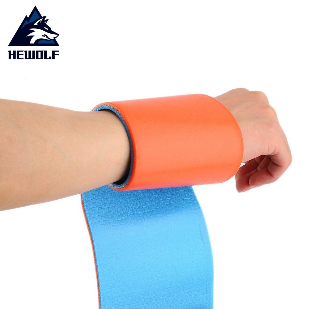 Hewolf 1 Pcs 11*92cm High Polymer Medical Multi-use Type Orange Aluminum Training Splint Fixed First Aid Bandage Roll hot