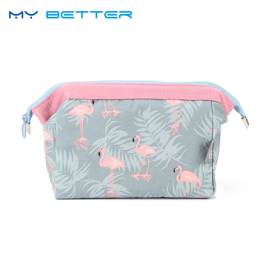 Fashion Women Portable Multifunction Waterproof Travel Zipper Cosmetic Bag Makeup Case Makeup Wash Pouch Toiletry Bag Neceser 3pcs cosmetic case toiletry bag travel organizador wash makeup bags case holder pouch kits set owl zebra neceser para mujer