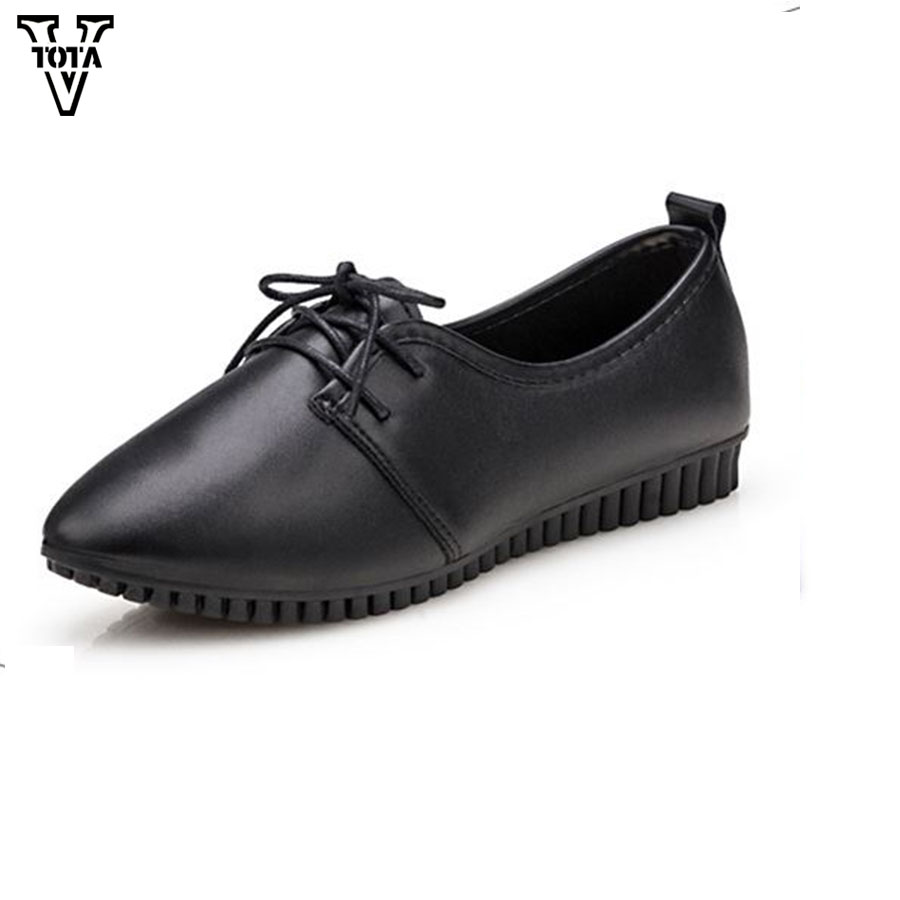 VTOTA 2017 Women Flats Pointed Toe Slip-On Flats Shoes Woman Casual Single Shoes zapatos mujer Outdoor Walking Ladies Shoes X23 nis ladies ballerina flats pointed toe moccasins casual flat shoes slip on for women black gray pink sky blue zapatos mujer