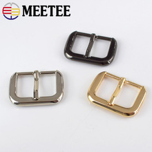 Meetee 5Pcs 25mm Handbags Bags Strap Buckle Metal Pin For Belt Snap Hook DIY Sewing Crafts Accessories BF101
