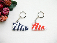 Mini Silicone AIR Keychain Bag Charm Woman Men Kids Key Ring Gifts Sneaker Key Holder Pendant Accessories Jordan Shoes Key Chain