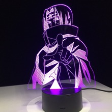 Itachi Uhchiha LED Color Change Lamp