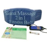 Gym Fitness Waist Belt Slimming Fat Burner Body Abdominal Muscle Exerciser Sauna Heating Vibrate Massager Belts
