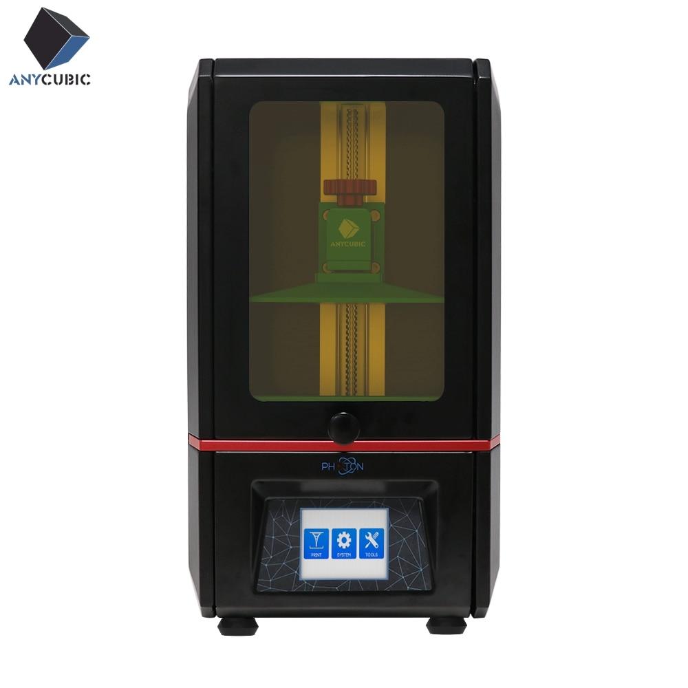 ANYCUBIC 3D Printer Photon SLA UV Resin Light Cure Desktop Impresora 405nm Resin Plus Print Size