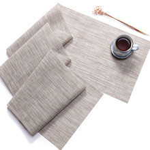 2019 New Japanese placemat woven insulation home environmental protection creative tablecloth