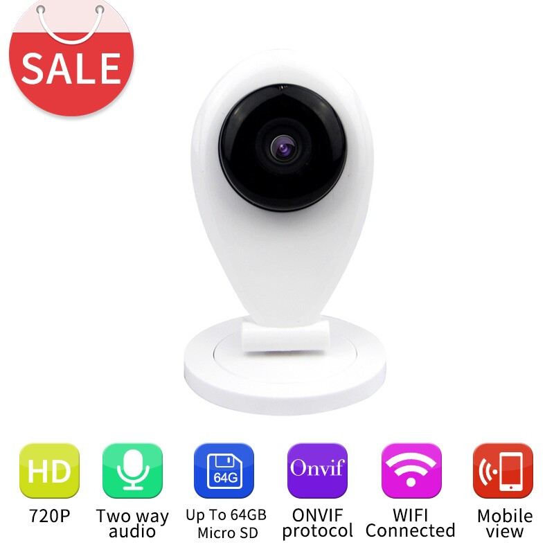 New Arrivall HD 720P WI-FI Wireless P2P Mini Baby Monitor CAM Smart Onvif Network Outdoor CCTV Security Wireless WIFI IP Camera