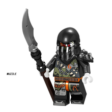 2018 NEW Ninjagoed Movie Minifigure Kai Lloyd Zane Cole Jay Nya Pythor Snake With Weapon Compatible LegoING Building Blocks Sets
