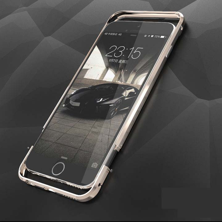 ITEUU 6 6S Plus luksuzna kovinska odbijača za Apple iPhone 6 6S Plus vrhunske kakovosti okvir iz aluminijaste zlitine
