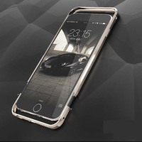 New Authentic Luphie Luxury Metal Bumper For Apple IPhone 6 4 7inch Top Quality High End