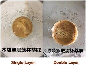 Image 5 - コーヒー 51 ミリメートルシングル/ダブル層フィルターバスケット delonghi コーヒーマシンユニバーサルパウダーボウル半自動コーヒーアクセサリー